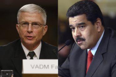 """¡AJÁ! El jefe del Comando Sur califica al régimen de Maduro como una """"mafia"""" que amenaza al hemisferio"""