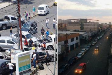¡GRAVE! Registran largas colas para obtener gasolina en Aragua: Han esperado más de 12 horas (+Fotos +Videos)