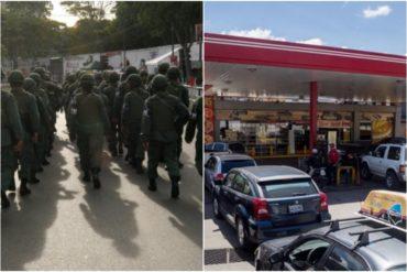 ¡LE CONTAMOS! Lo que dice una fuente militar de la escasez de gasolina, según periodista