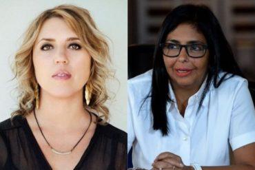 ¡CON TODO! Gabriela Montero volvió papilla a Delcy Eloína: Este engendro sin alma y corazón no es mujer, no es nada, no es nadie