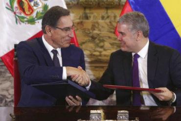 ¡LO TIENEN CLARO! Presidentes de Perú y Ecuador coinciden en que la crisis migratoria de Venezuela solo se solucionará con la salida de Maduro