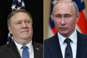 """¡DEBE SABERLO! ABC dice que Pompeo hará un """"último intento"""" de lograr una salida diplomática a la crisis en Venezuela en reunión con Putin"""