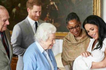 ¡ENTÉRESE! Aunque la Reina Isabel aceptó la renuncia de Meghan y Enrique se quedará con la custodia del pequeño Archie (+La razón)