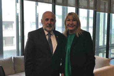 ¡SEPA! Luisa Ortega Díaz se reunió este #25Jun con el fiscal general de Chile para abordar crisis en Venezuela