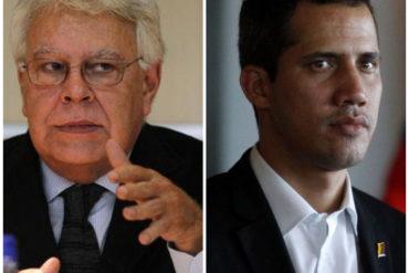 """¡VEA! El error que """"debilita"""" a la oposición venezolana a la hora de enfrentar el régimen, según Felipe González"""
