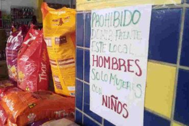 ¡NO PERNOCTAR! Comerciantes de Pacaraima prohíben a venezolanos dormir ante las puertas de negocios