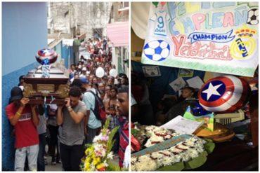 ¡IRÓNICO! La imagen del velorio de uno de los niños que murió en el JM de los Ríos (+Foto) (+Polémicas reacciones)