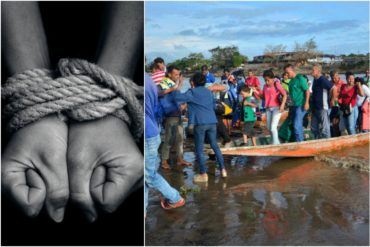 """¡MUY GRAVE! Diputado alerta sobre una mafia de trata de personas: """"Cuenta con la complicidad del Estado venezolano y trinitario"""""""