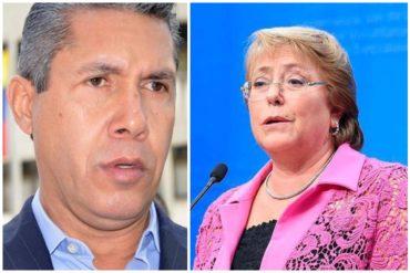 """¡SIN PELOS EN LA LENGUA! Henri Falcón a Michelle Bachelet: """"Es la hora de actuar con conciencia"""" (+Carta)"""