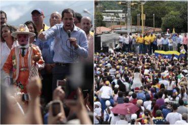 """¡ASÍ LO DIJO! Guaidó desde El Vigía: """"Yo no estoy en campaña, ando por todo el país agitando la calle"""" (+Fotos +Video)"""