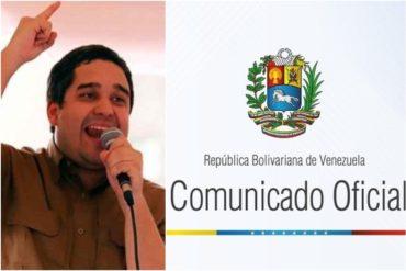 ¡LA PATALETA! El régimen de Maduro condenó sanciones adoptadas por EEUU contra Nicolasito (+Comunicado)