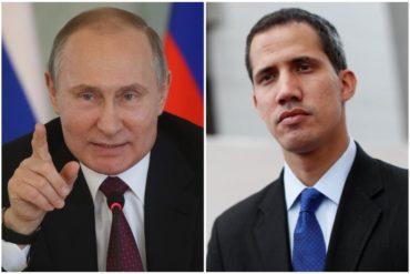 ¡NO SE LO PIERDA! Lo que dijo Putin sobre las palabras de Guaidó al juramentarse presidente interino el #23Ene