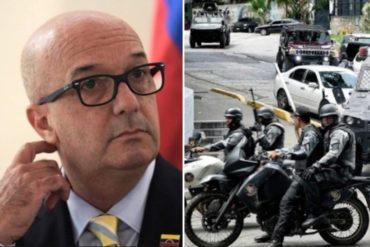 """¡ASÍ LO DIJO! Simonovis rechaza investigación de la Fiscalía contra funcionarios de la Cicpc: """"¿En qué parte dice que no puede operar en la Cota 905?"""""""