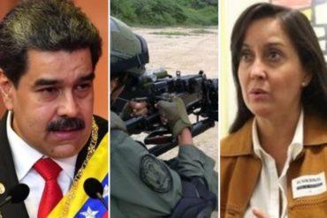 ¿QUÉ TAL? Rocío San Miguel dice que Maduro es el individuo con más influencia sobre la FANB y revela los 4 militares que lo sostienen en el poder