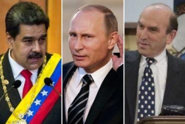 """¡ASÍ LO DIJO! Rusia le daría a Maduro """"la confianza"""" de que puede mantenerse en el poder, según Elliott Abrams"""