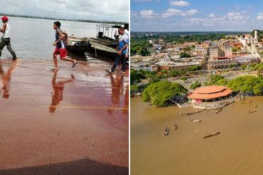 ¡PREOCUPANTE! Decretan alerta Roja en Puerto Ayacucho por crecida del río Orinoco: No para de llover (+Fotos)