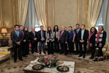 ¡LE CONTAMOS! Kimberly Breier se reunió con representante de Guaidó en Argentina (+Foto)