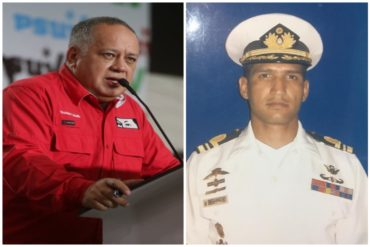 ¡DESCARADOS! Diosdado Cabello dice que se investigará caso de Acosta Arévalo pero «investigación foránea depende de Maduro»