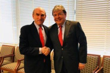 """¡IMPORTANTE! Canciller colombiano habló con Abrams sobre el informe Bachelet y el """"grave impacto"""" de la crisis venezolana en la región (+Video)"""