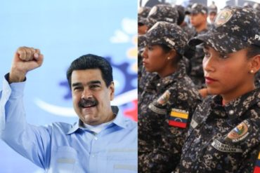 """¿SUS PRIORIDADES? Maduro autoriza """"gran inversión"""" para darle más beneficios a la PNB y las FAES (+Cifras)"""