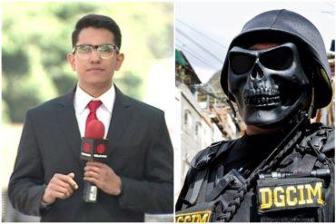 ¡TE LO CONTAMOS! Periodista de Televen contó cómo fue detenido por funcionarios de la Dgcim mientras cubría protesta