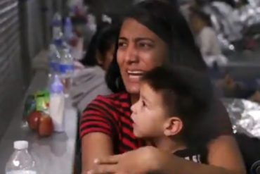 """¡PARA LLORAR! Venezolana detenida en centro de migrantes en EEUU: """"Esto es mejor que Venezuela"""" (+Video)"""