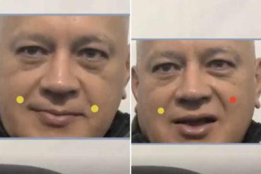 """¡EN DETALLE! Lo que revela el discurso de Diosdado Cabello analizando su expresión corporal: Estaría """"contento"""" porque Guaidó está libre"""