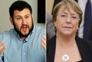 ¡ASÍ LO DIJO! Smolansky reitera a Bachelet que el bloqueo no generó la crisis: No he escuchado al primer venezolano que haya emigrado por las sanciones