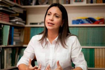 """¡SIN TAPUJOS! Maria Corina Machado: """"Aquí hay mucha gente haciendo plata con el hambre de los venezolanos"""""""