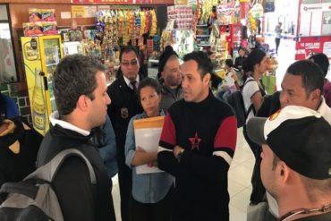 ¡ENTÉRESE! Representante de Guaidó en Perú se reunió con venezolanos en la frontera con Chile