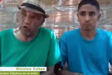 ¡SE LO MOSTRAMOS! Winston Cabas habla por primera vez fuera del país tras ser amenazado por el régimen (+Video)