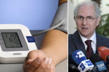 """¡FRONTAL! Antonio Ledezma: """"Maduro no puede ni siquiera controlar su tensión arterial"""" (Lo responsabilizó de la crisis eléctrica)"""