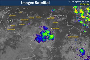 ¡ATENTOS! Onda tropical número 33 producirá fuertes lluvias en el país