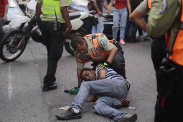 ¡TERRIBLE! Un hombre fue arrollado en Chacao por avería de semáforos durante apagón de este #20Ago (+Video)