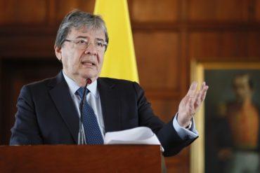 ¡CONTUNDENTE! Canciller colombiano confiesa que no creen en las negociaciones auspiciadas por Oslo (+Video)