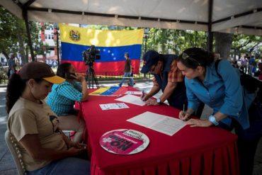 ¡SÍ, LUIS! Maduro asegura que han recolectado 5 millones de firmas en rechazo de las sanciones de Trump (+Video)