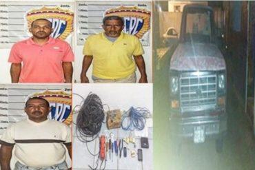 ¡ENTÉRESE! Detuvieron a falsos funcionarios de Cantv en Anzoátegui (Obtenían dinero y material estratégico)