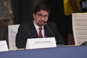 ¡HASTA CON EL TOBO! La dura crítica de Freddy Guevara a quienes se oponen a las sanciones contra el régimen