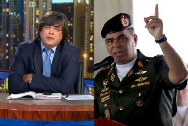 """¡SIN PELOS EN LA LENGUA! Jaime Bayly le lanzó a Padrino López y lo calificó de """"canalla"""" y """"adulón de un dictador incompetente"""" (+Video)"""