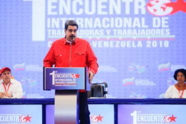 ¡CUÉNTAME MÁS! Maduro: No es tiempo de lloriqueos, es momento de plantarse firmemente y sacar la patria pa´lante con firmeza (+Video)