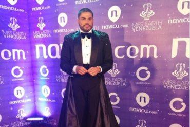 ¡SE DEFENDIÓ! Prince Julio César niega presunto fraude en la coronación del Miss Earth Venezuela