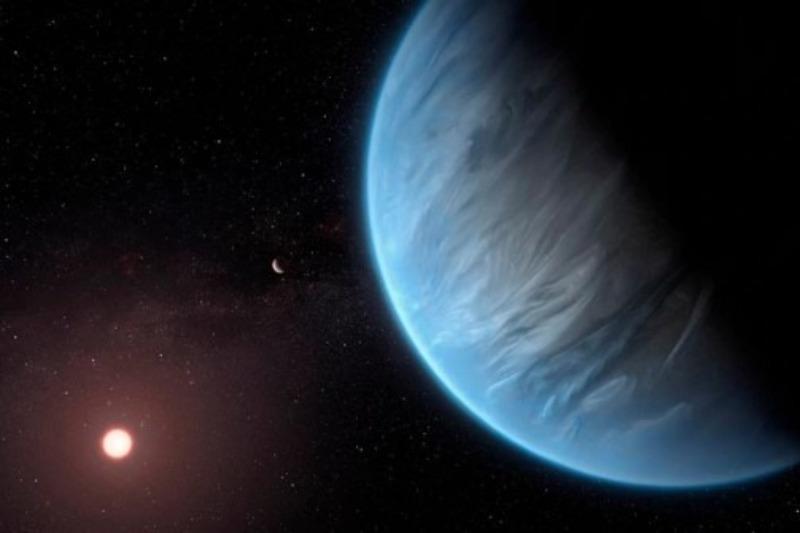 Científicos descubrieron agua en el planeta más habitable fuera del Sistema Solar