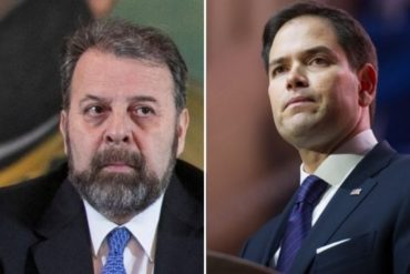 """¡IMPERDIBLE! El toma y dame entre Marco Rubio y Timoteo Zambrano luego del inicio del """"diálogo paralelo"""": """"Nuestra propuesta es designar un nuevo CNE"""""""