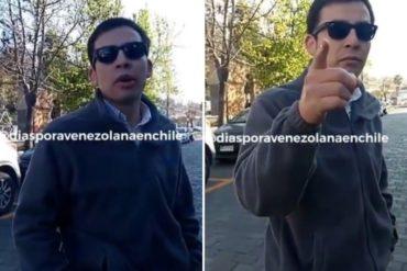 """¡QUÉ TRISTE! """"Muerto de hambre… Yo no soy tu hermano"""": así agredió un chileno a un venezolano en su país (+Video)"""