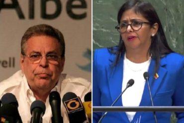 """¡EL MISMO GUIÓN! """"Al parecer lo escribió Arreaza"""": el ácido comentario de Ravell sobre el """"aburrido"""" discurso de Delcy Eloína ante la ONU"""