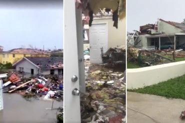 ¡ENTÉRESE! Cruz Roja estima la destrucción de 13.000 viviendas en Bahamas tras paso de Dorian