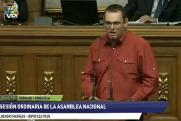 ¡ASÍ LO DIJO! La descarada declaración de este diputado chavista: Antes de llegar Chávez, a nuestros abuelos le echaban gas en las calles (+Video)