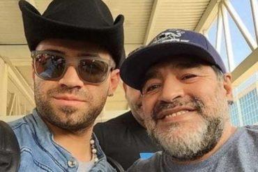¡AQUÍ LE CONTAMOS! Nacho volvió a caer en polémica tras tomarse varias fotos con Maradona (+Tuits de indignación)