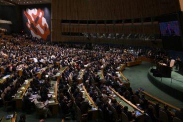 ¡MÍRELOS! El carómetro de la delegación de Maduro en la ONU durante mortal discurso de Trump: Arreaza y Moncada brillaron por su ausencia (+Fotos +Video)