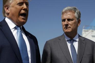 ¡SE LO MOSTRAMOS! Lo que ha dicho sobre el caso Venezuela Robert O'Brien, nuevo asesor de seguridad nacional de Trump que sustituyó a Bolton